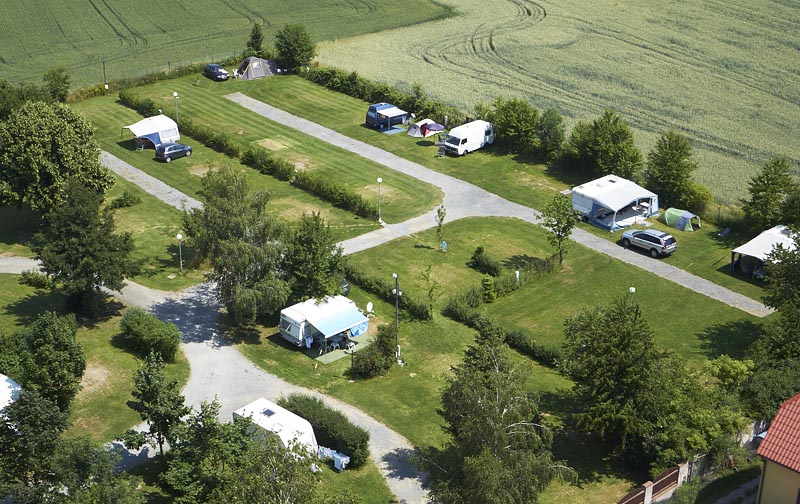 Camping Oase Praha - pitches 66-82 and 45-46