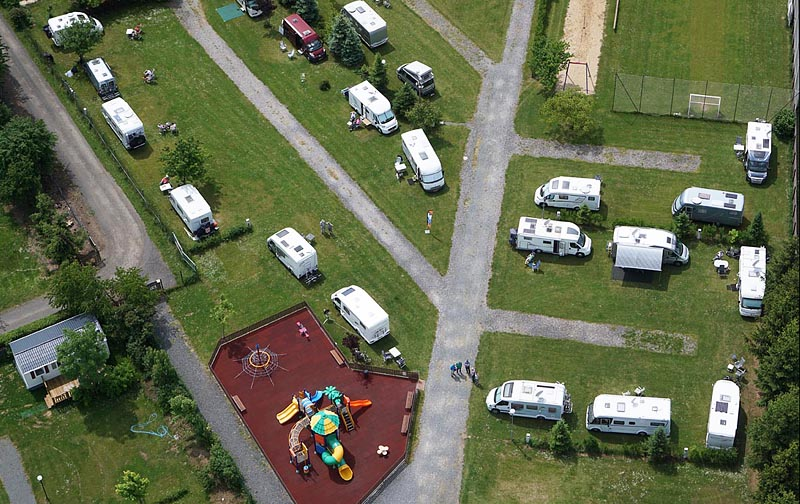 Camping Oase Praha - pitches 110-127