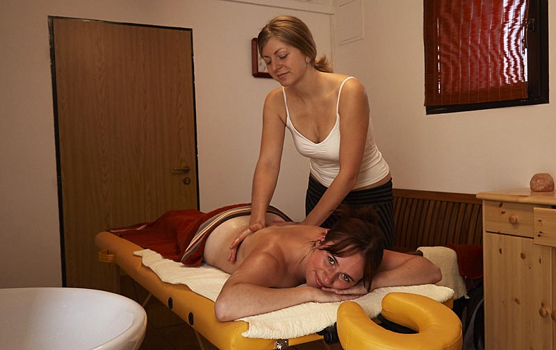 Massages right in the area of the campsite