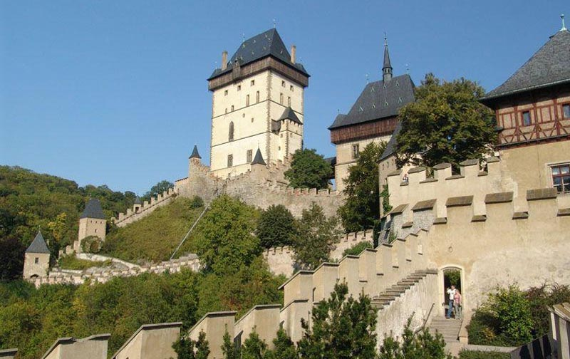 17 - Karlštejn Castle - Royal Castle - the most famous monument of the Czech Republic (32 km)