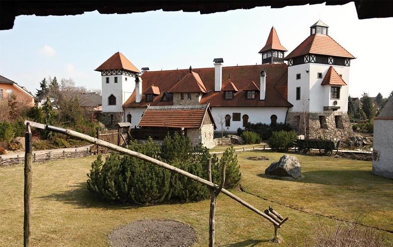 19 - Červený Újezd Castle ​​- new building in an old style (38 km)