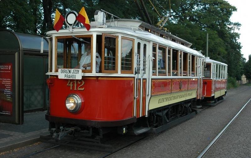 15 - Historical tram - Prague sightseeing tours (26 km)