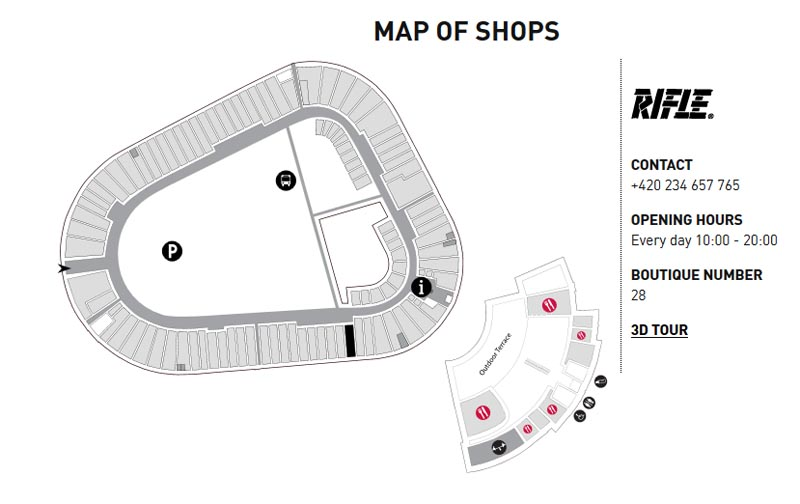 82 - Fashion Outlet arena - prices 30 to 70 % lower than in regular shops (21 km)