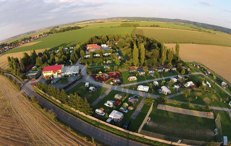 Camping Oase Praha - aerial photography